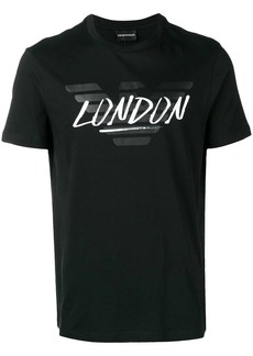 Armani London logo T-shirt