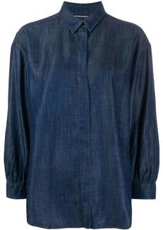 Armani long-sleeve denim shirt