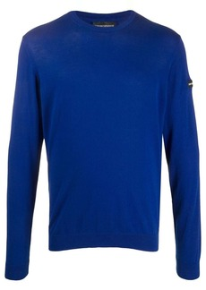 Armani long-sleeve fitted jumper