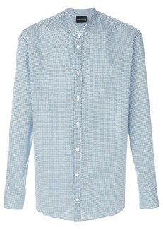 Armani long-sleeve fitted shirt