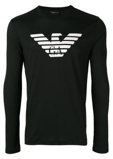 Armani long-sleeve logo T-shirt