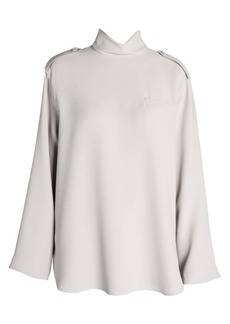 Armani Long Sleeve Silk Turtleneck Tunic