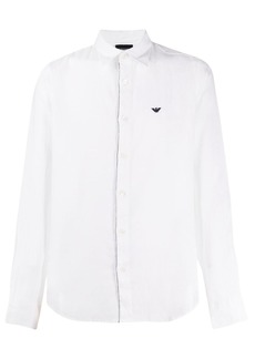Armani long sleeved linen shirt