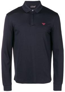 Armani long-sleeved polo shirt
