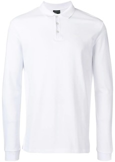 Armani longsleeved polo shirt