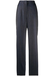 Armani loose-fit hight-waist trousers
