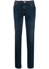 Armani low-rise skinny jeans