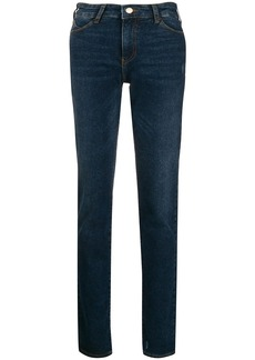Armani low-rise skinny jeans