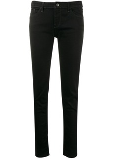 Armani low rise skinny jeans