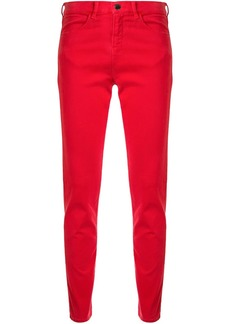 Armani low rise skinny trousers