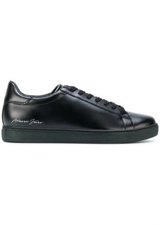 Armani low top lace-up sneakers