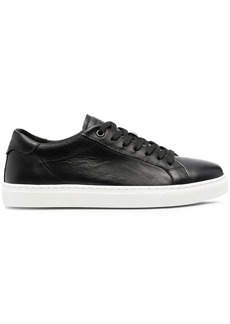 Armani low-top leather sneakers
