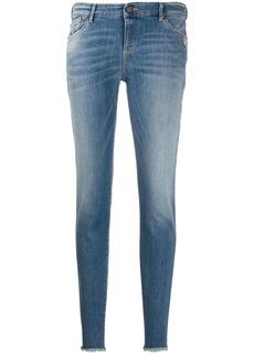 Armani low-waist skinny jeans