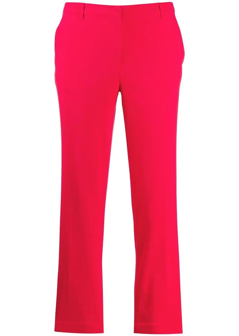 Armani low-waist straight trousers