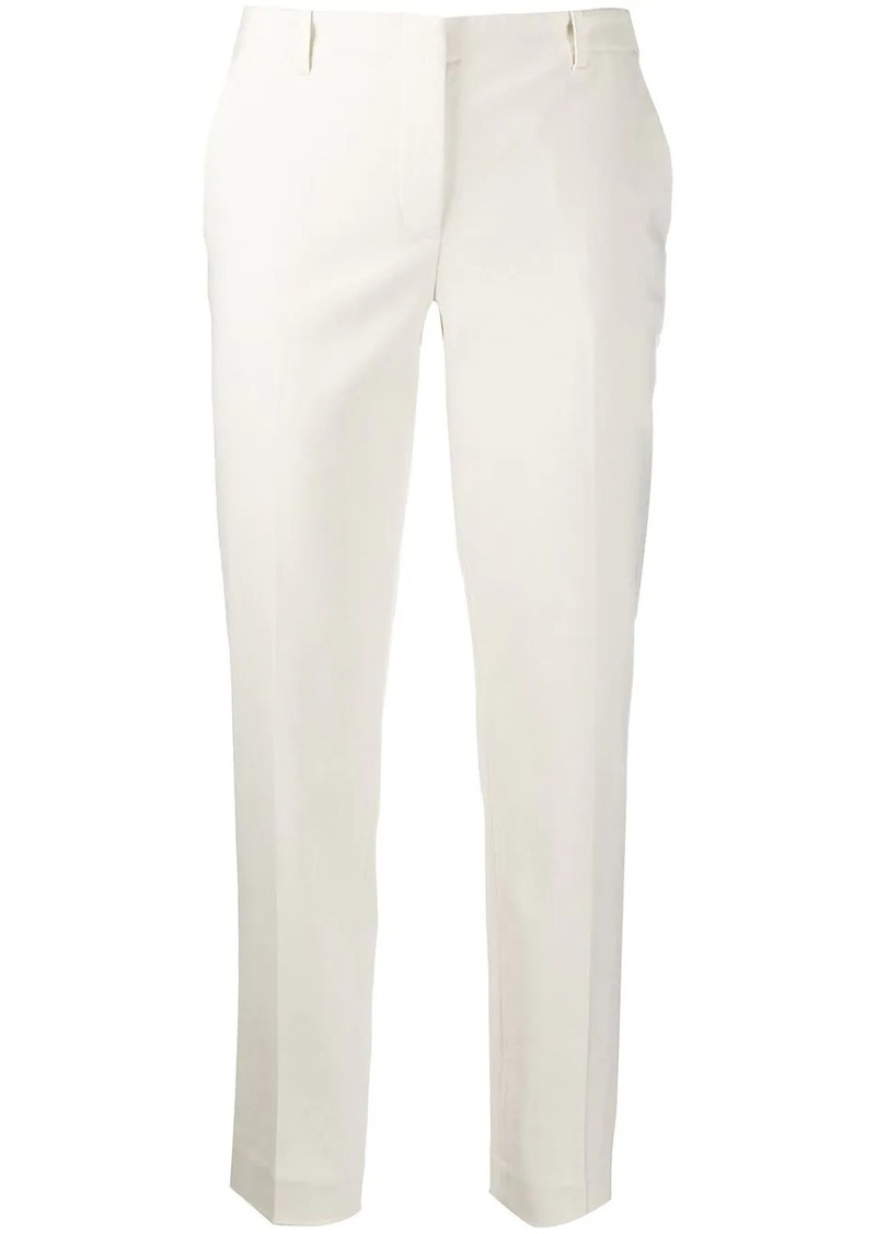 Armani low-waist tapered trousers
