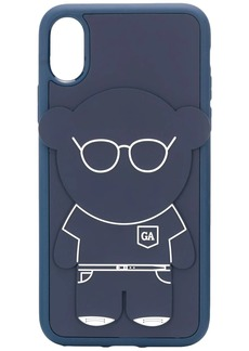 Armani Manga bear iPhone X/XS case