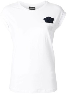 Armani Manga Bear patch T-shirt