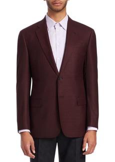 Armani G-Line Marled Wool Sportcoat