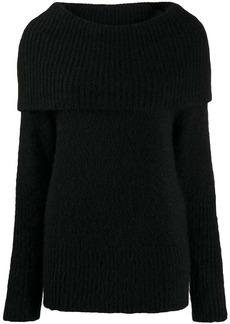 Armani maxi-knit wool jumper