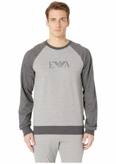 Armani Melange Mix Terry Sweatshirt