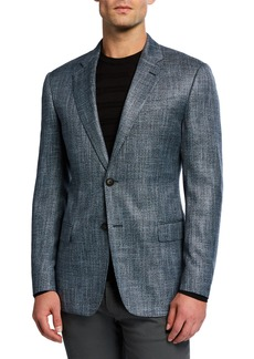 Armani Men's Bamboo Melange Sport Coat