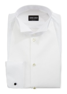 Armani Men's Bib-Front Formal Shirt