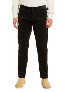 Armani Men's Corduroy Five-Pocket Pants