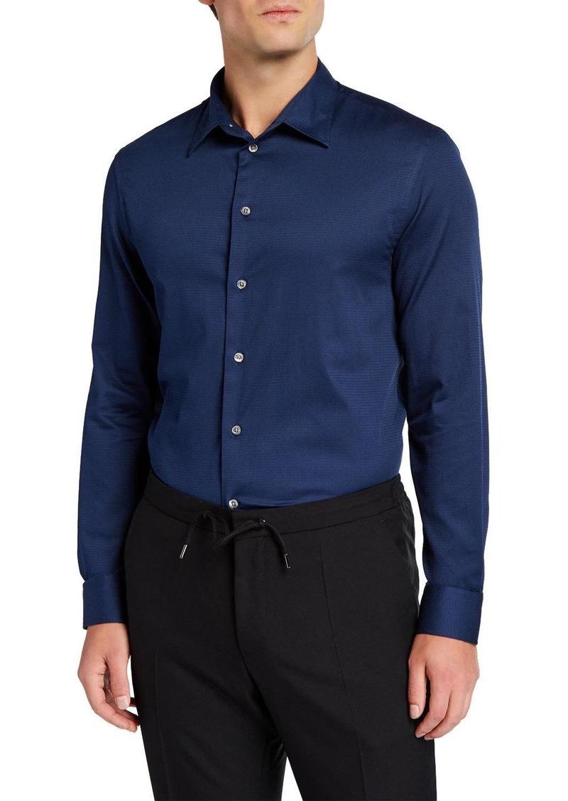 Armani Men's Cotton Sport Shirt