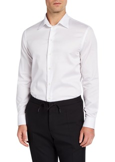 Armani Men's Cotton Sport Shirt  White