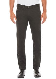 Armani Men's Five-Pocket Techno Jersey Pants