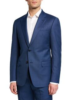 Armani Men's G Line Super 130s Wool Sharkskin Two-Piece Suit