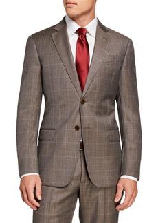 Armani Men's G-Line Windowpane Wool Two-Piece Suit
