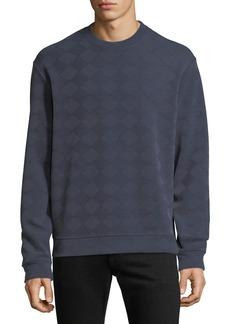 Armani Men's Geometric Jacquard Sweatshirt