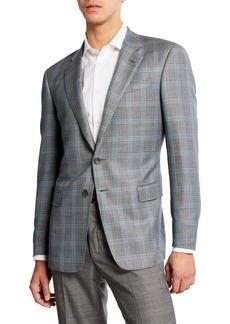Armani Men's Glen Plaid Sport Coat