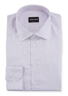 Armani Men's Graph-Check Dress Shirt