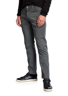 Armani Men's J15 Stretch-Cotton 5-Pocket Pants