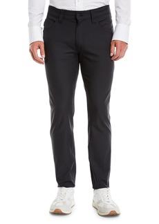 Armani Men's J15 Techno-Stretch Straight-Leg Pants