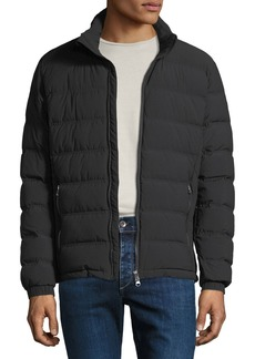 Armani Men's EA7 Lightweight Quilted Down Jacket