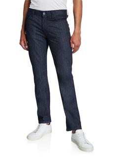 Armani Men's Medium-Wash Denim Jeans