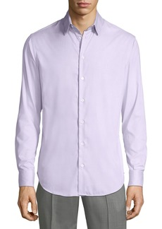 Armani Men's Micro Neat Sport Shirt