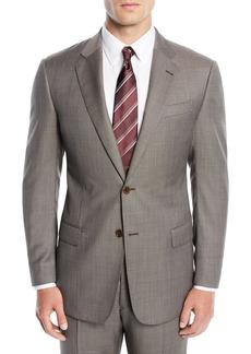 Armani Men's Micro-Textured Two-Piece Suit