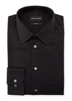Armani Men's Modern-Fit Cotton-Stretch Dress Shirt
