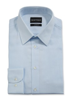 Armani Men's Modern-Fit Stripe Dress Shirt