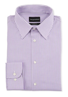 Armani Men's Modern-Fit Tonal Square Dress Shirt