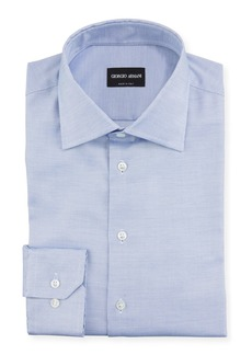 Armani Men's Neat Dress Shirt