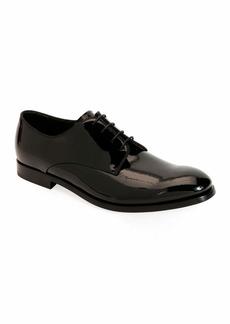 Armani Men's Patent Leather Derby Shoes