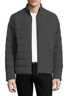 Armani Men's Polyester Melange Puffer Jacket