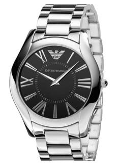 Armani Men's Round Case Bracelet Watch, 43mm