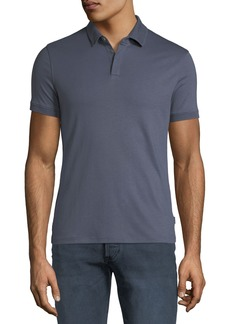 Armani Men's Solid Jersey Polo Shirt