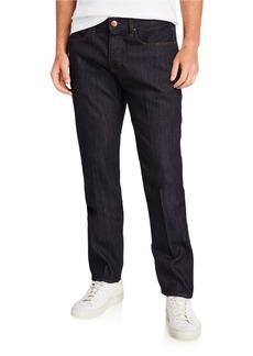 Armani Men's Straight-Leg 10-oz. Stretch Denim Jeans